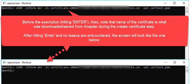 Solved: Boomi RESTful API to Anaplan using certificate