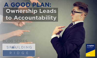 A Good Plan: Ownership Leads to Accountability