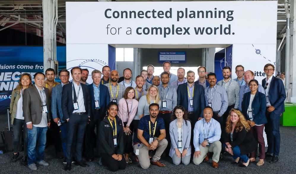Master Anaplanners connect at CPX 2019