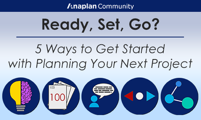 Ready, Set, Go? 5 Ways to Get Started with Planning Your Next Project (Infographic)