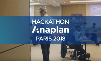 Hub Comes to You Paris – Anaplan Partner Hackathon 2018