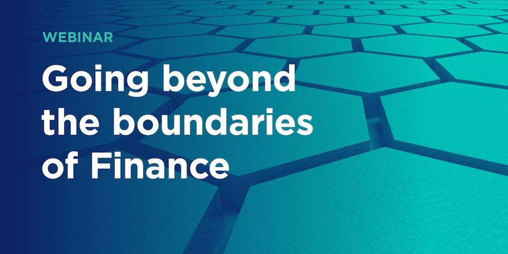 Going beyond the boundaries of finance