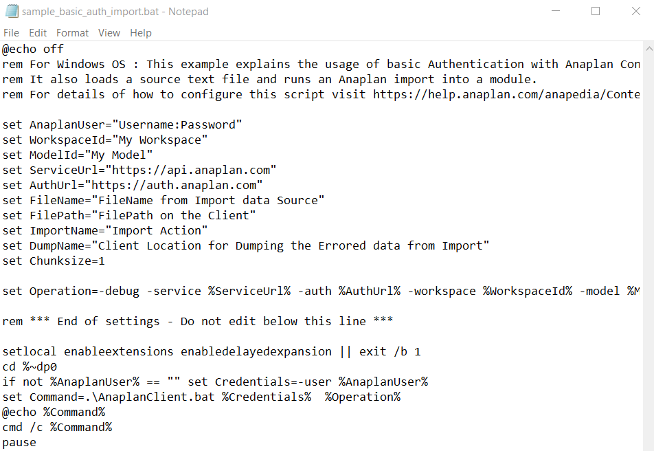 Sample basic auth. import script provided.png