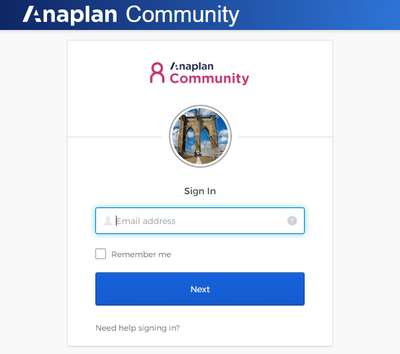 "Click ""Need help signing in?"" to begin"