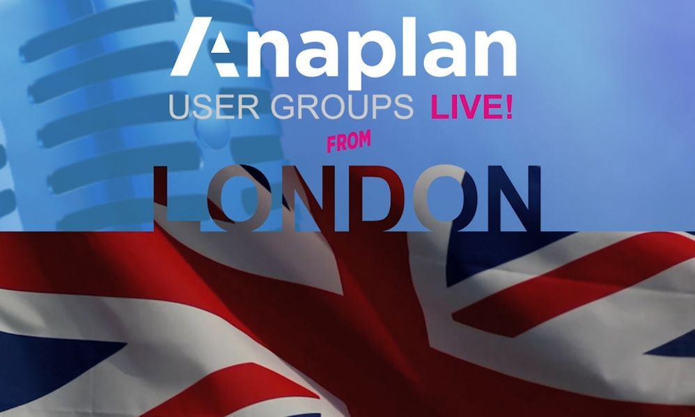 Recap: User Groups Live! from the UK
