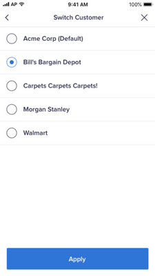 Anaplan Mobile v1.0.8 — Nov 20, 2019: Checkbox Data Input & Switch Customer