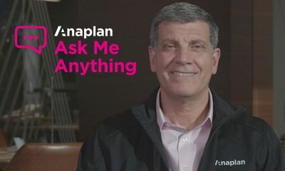 Frank Calderoni: The Future of Anaplan is Clear