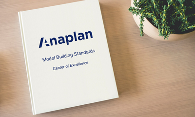 Jump-Start Your Center of Excellence with a Model Building Standards Document