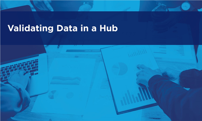 Validating Data in a Hub