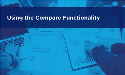 Using the Compare Functionality