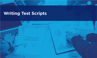 Writing Test Scripts