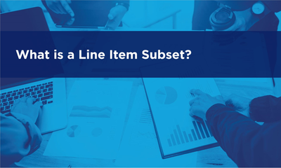 What is a Line Item Subset?