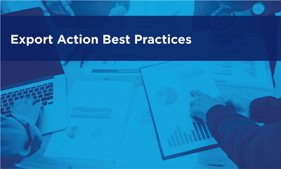 Export Action Best Practices