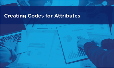 Creating Codes for Attributes