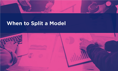 When to Split a Model
