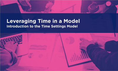 Leveraging Time in a Model