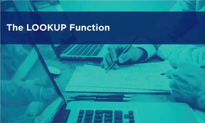 The LOOKUP Function