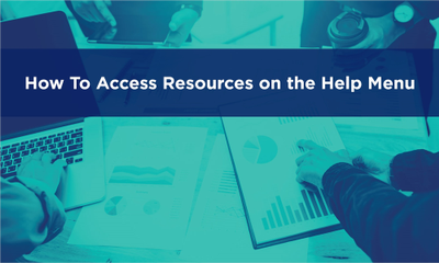 Accessing Help and Anapedia Resources