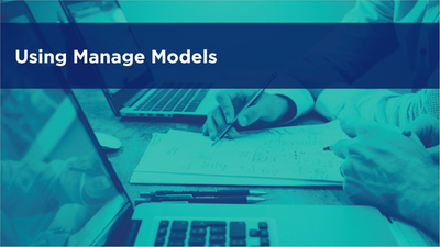 Using Manage Models