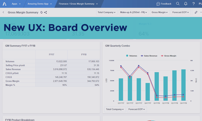 New UX: Board Overview
