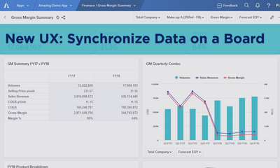 New UX: Synchronize Data on a Board