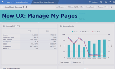 New UX: Manage My Pages