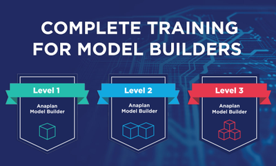 Complete Training for Model Builders from Anaplan Academy