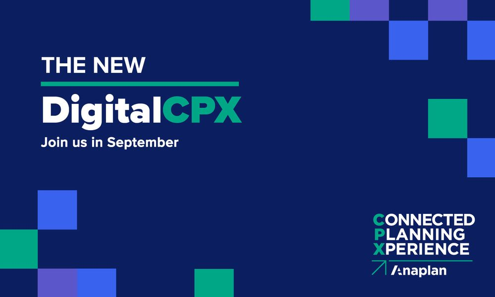 Connected Planning Xperience Goes Digital in 2020