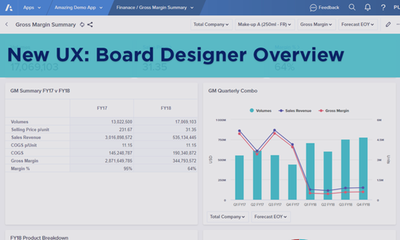 New UX: Board Designer Overview