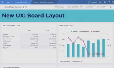 New UX: Board Layout