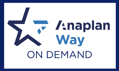 The Anaplan Way On Demand