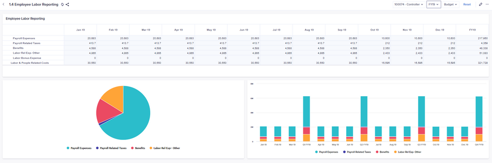 Professional Fees Dashboard – Input vendor, spend type/category, and passing for professional fees and review total spend.