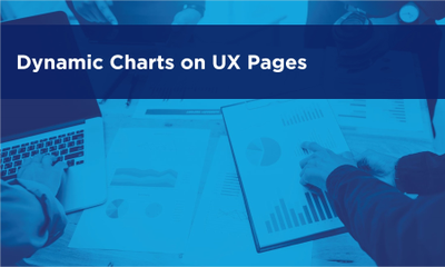 Dynamic Charts on User Experience (UX) Pages