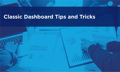 Dashboard Tips and Tricks