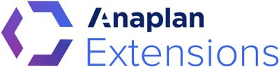 Anaplan Extensions: Excel Add-in Terminology
