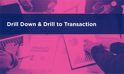 Drill Down and Drill to Transaction
