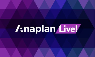 Anaplan Live! December: That's a Wrap