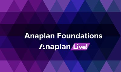 Anaplan Foundations: Resources for the Casual Model Builder, Top 5 Functions