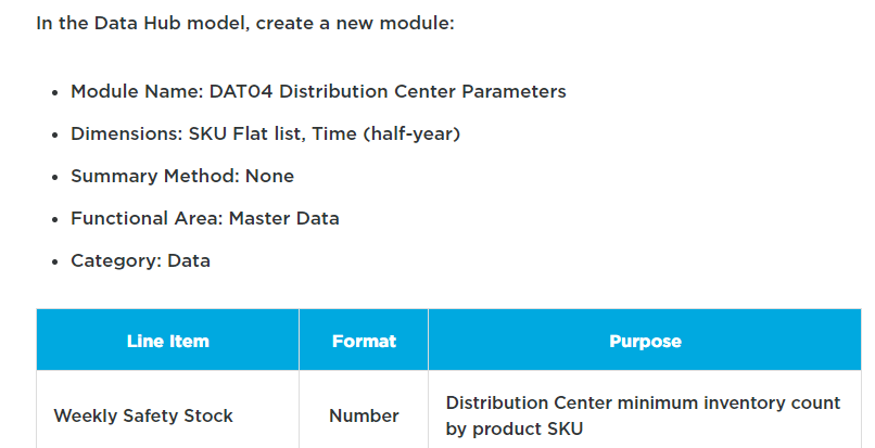 given instruction to create this module