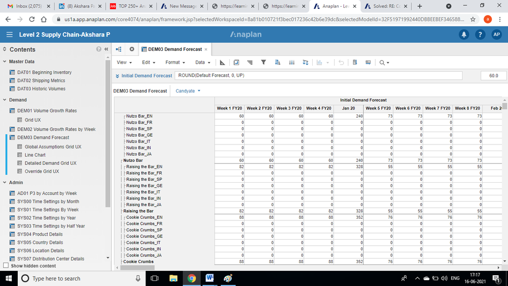 this is the one i got before conditional formatting